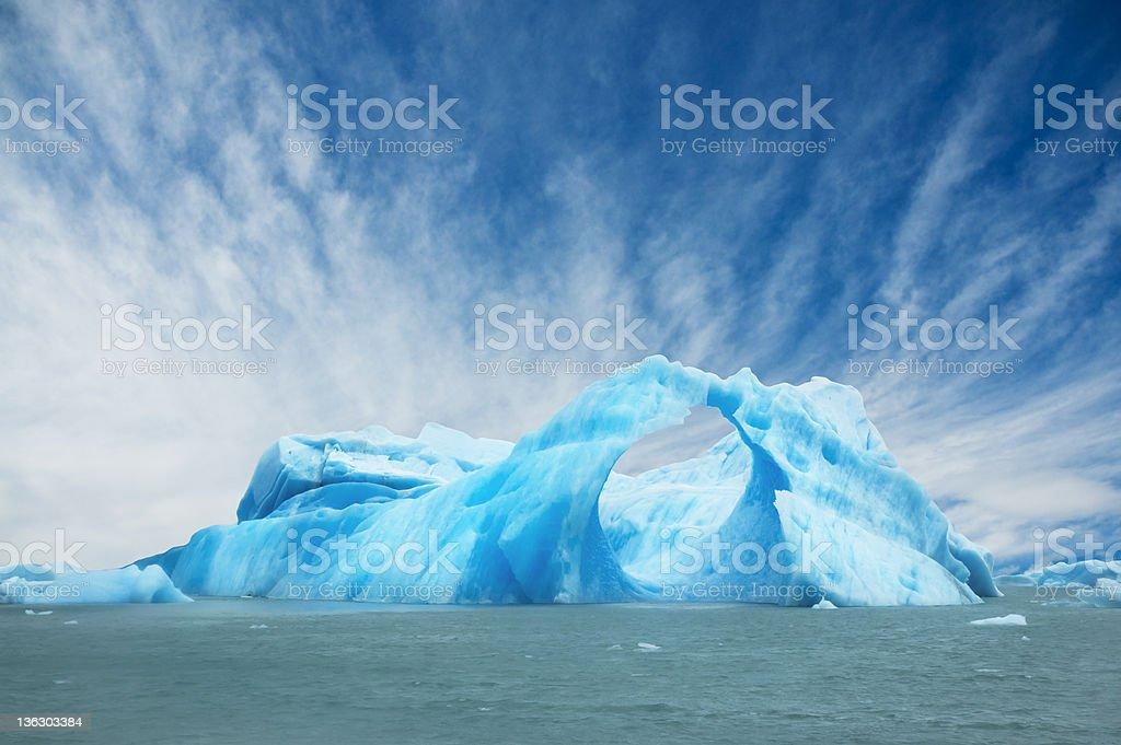 Iceberg. royalty-free stock photo