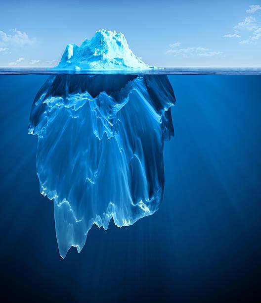 iceberg - foto de stock