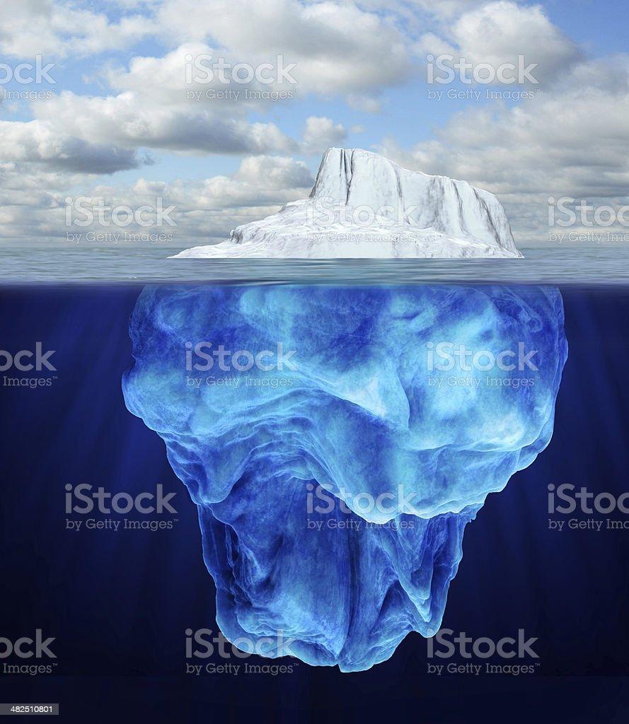 Iceberg royalty-free stock photo