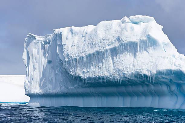 Iceberg Sculpture stock photo