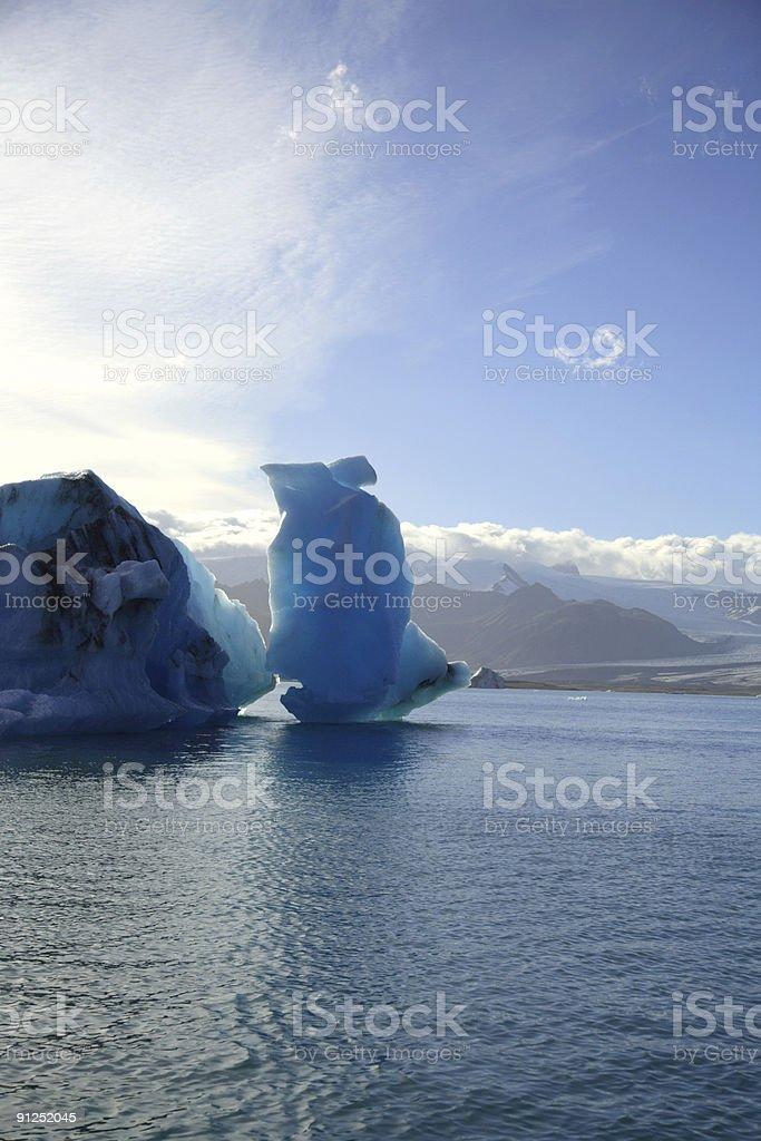 Icebergs, Iceland royalty-free stock photo