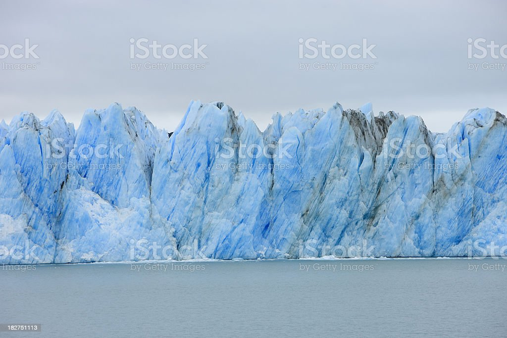 Icebergs royalty-free stock photo