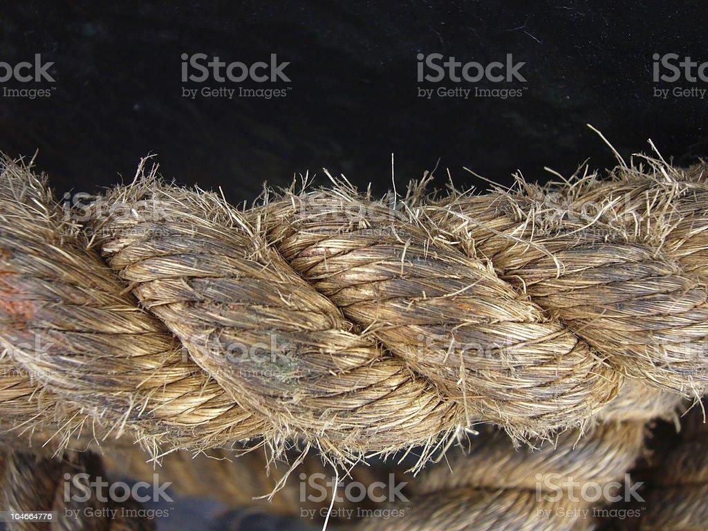 icebreaker rope_02 royalty-free stock photo