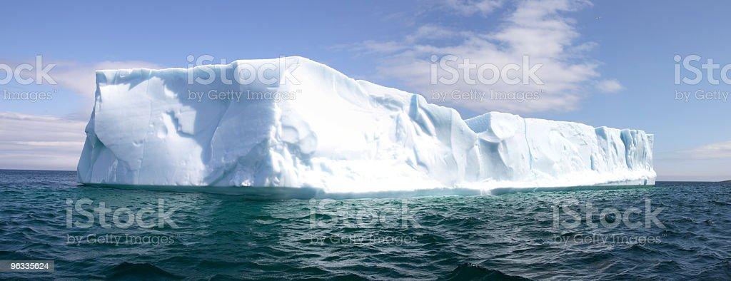 Iceburg Panoramic stock photo