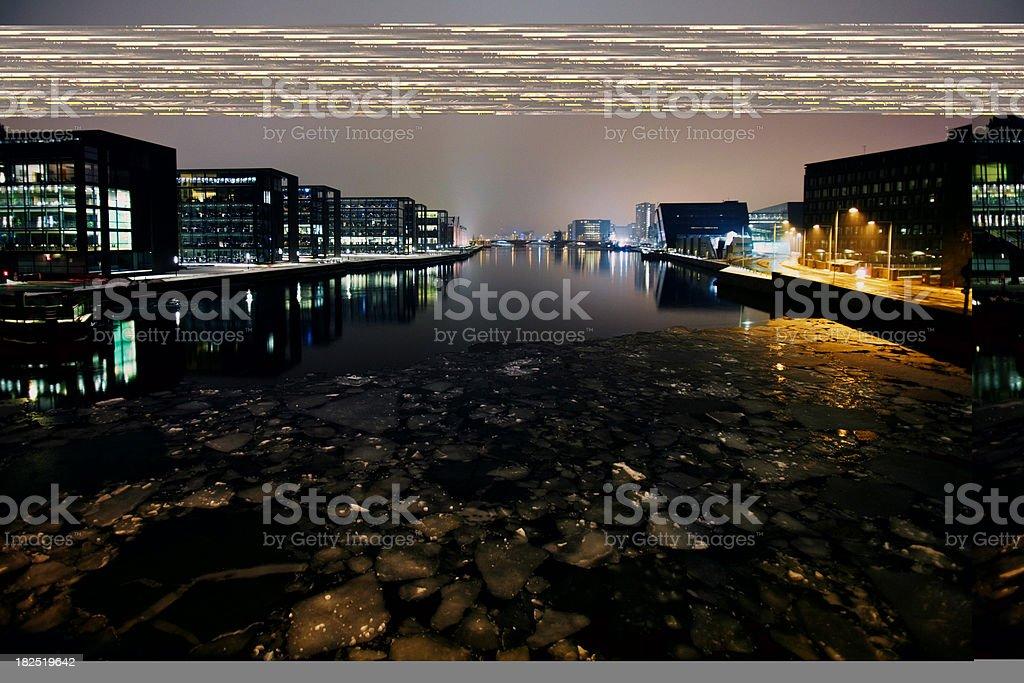 Eiskalte city – Foto