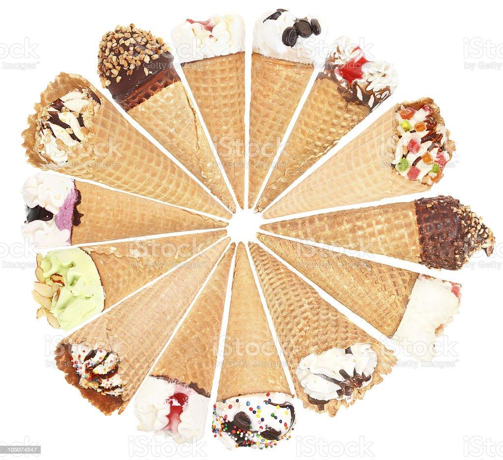 Ice-cream royalty-free stock photo
