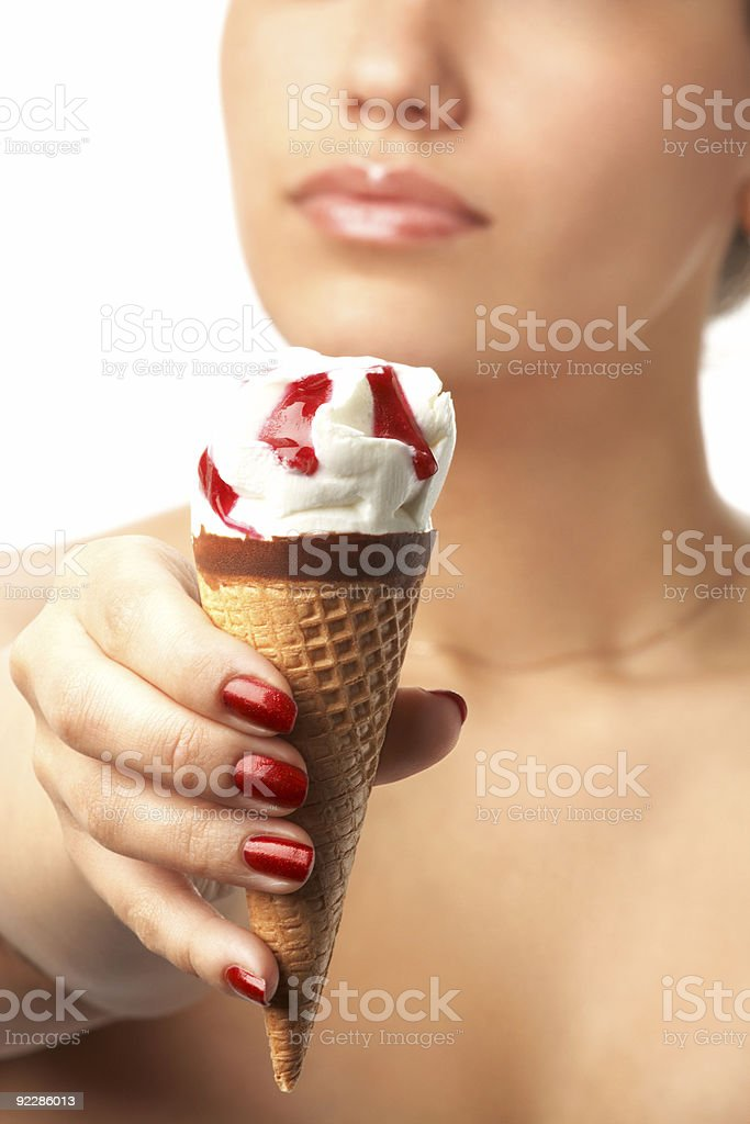 ice-cream royalty-free stock photo