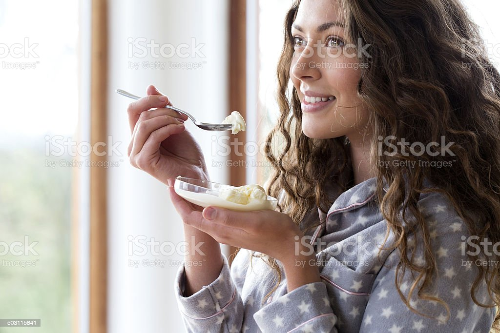 Icecream Treat stock photo