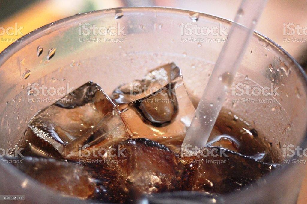 Iced Beverage stock photo