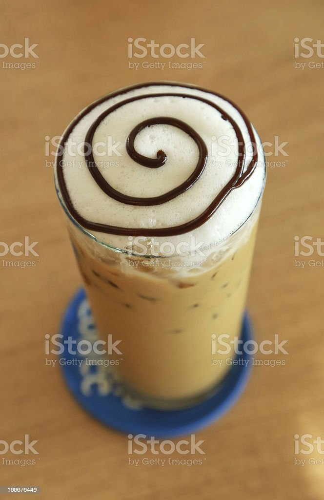 iced blended royalty-free stock photo