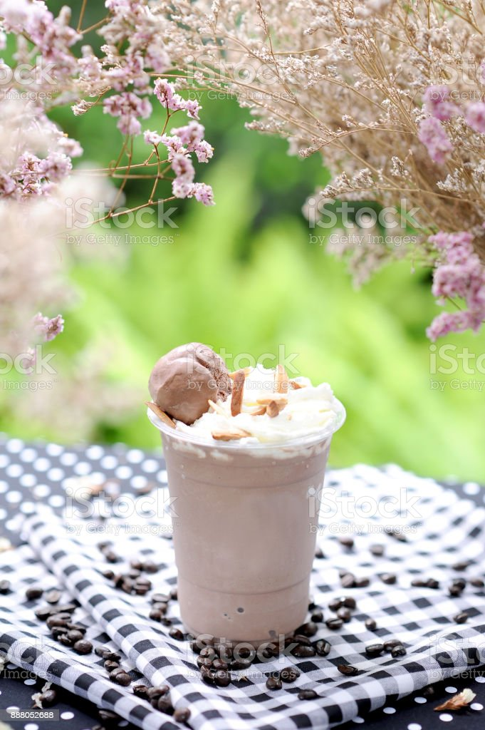 iced blended stock photo
