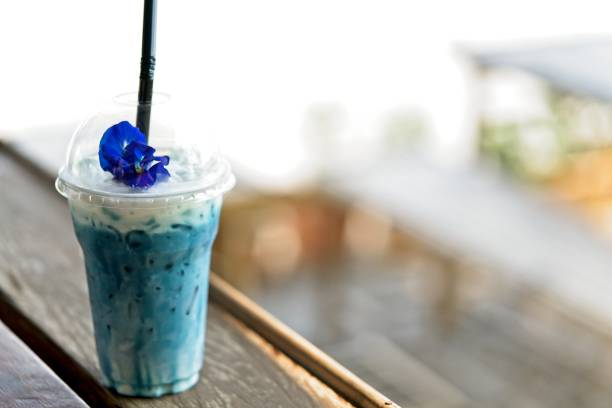 Iced blue pea milk or iced butterfly pea latte with milk on the and picture id979119904?b=1&k=6&m=979119904&s=612x612&w=0&h=mgwvgcgwooye6xp i7r6ann5gihqha22brhqey 0aze=