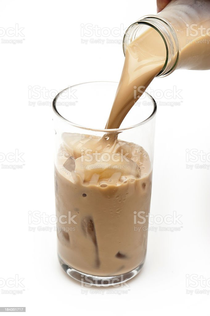 Iced Cappuccino royalty-free stock photo