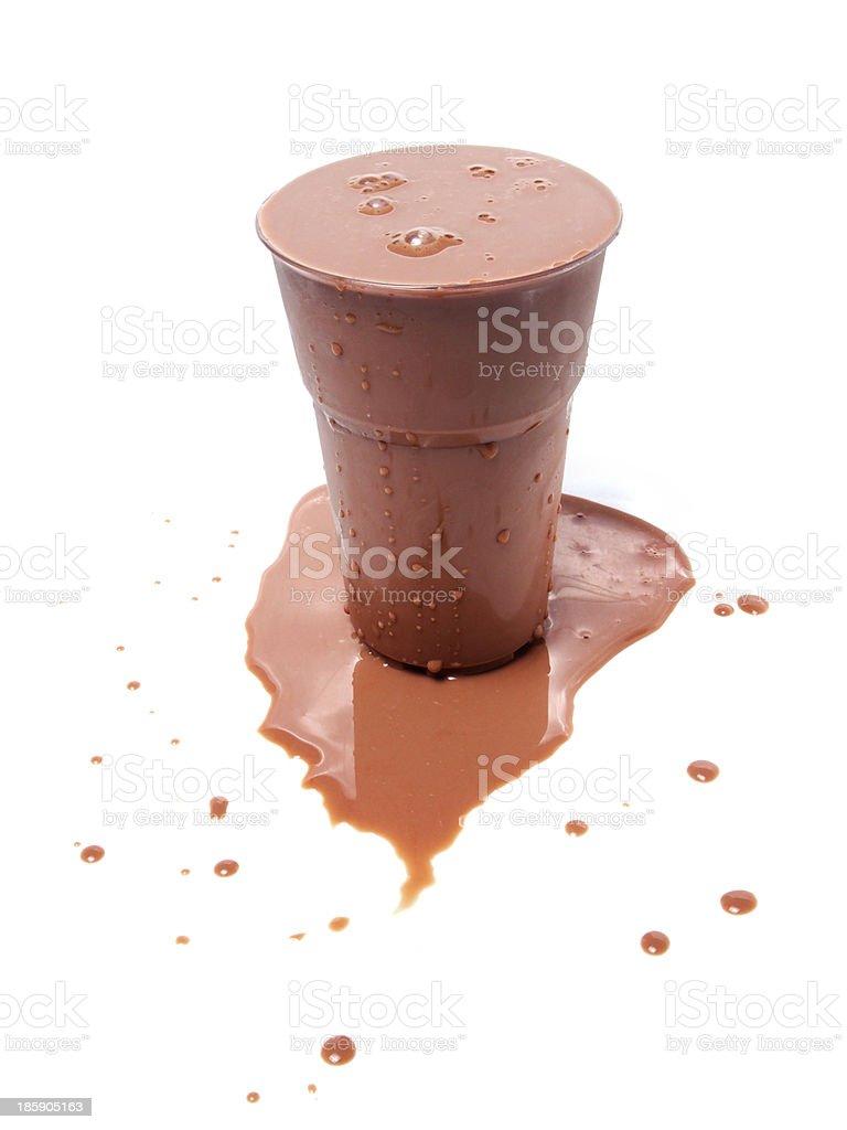 Iced Chocolate Milk royalty-free stock photo