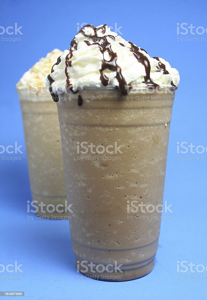 Iced Coffee Drinks royalty-free stock photo