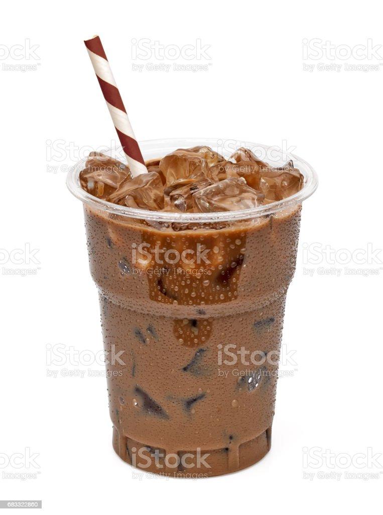 Latte de café ou café glacé photo libre de droits