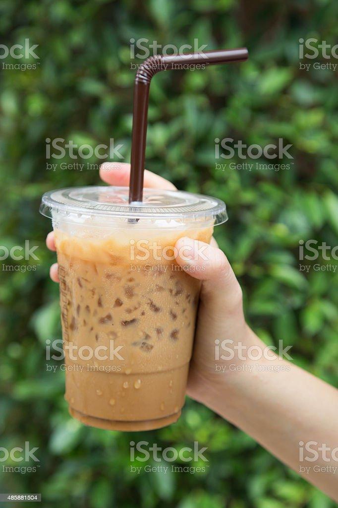Iced Coffee stock photo