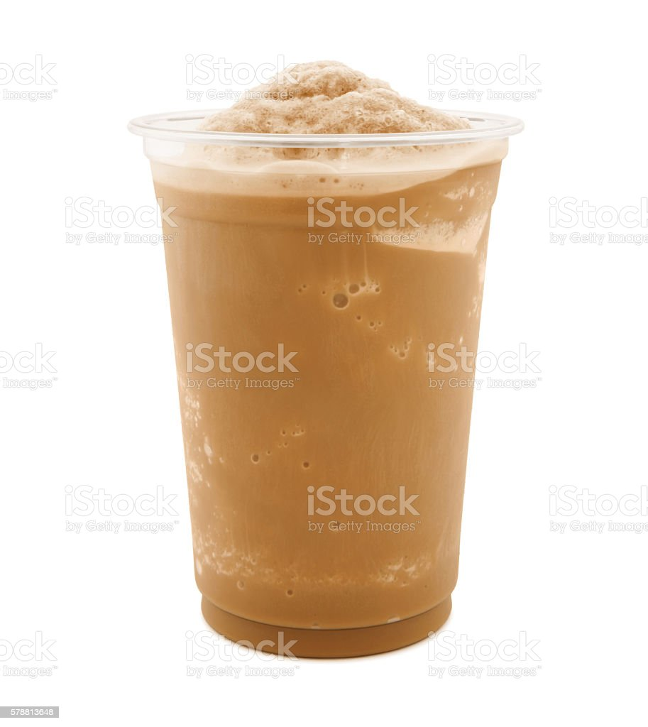 Iced Coffee (with path) stock photo