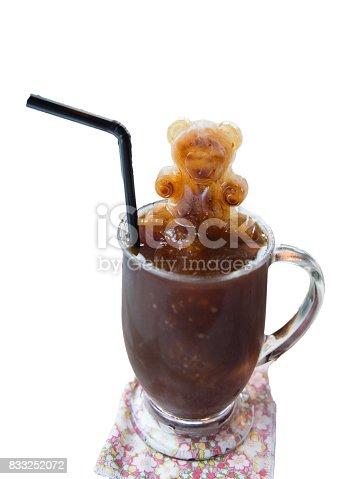 istock Iced coffee 833252072