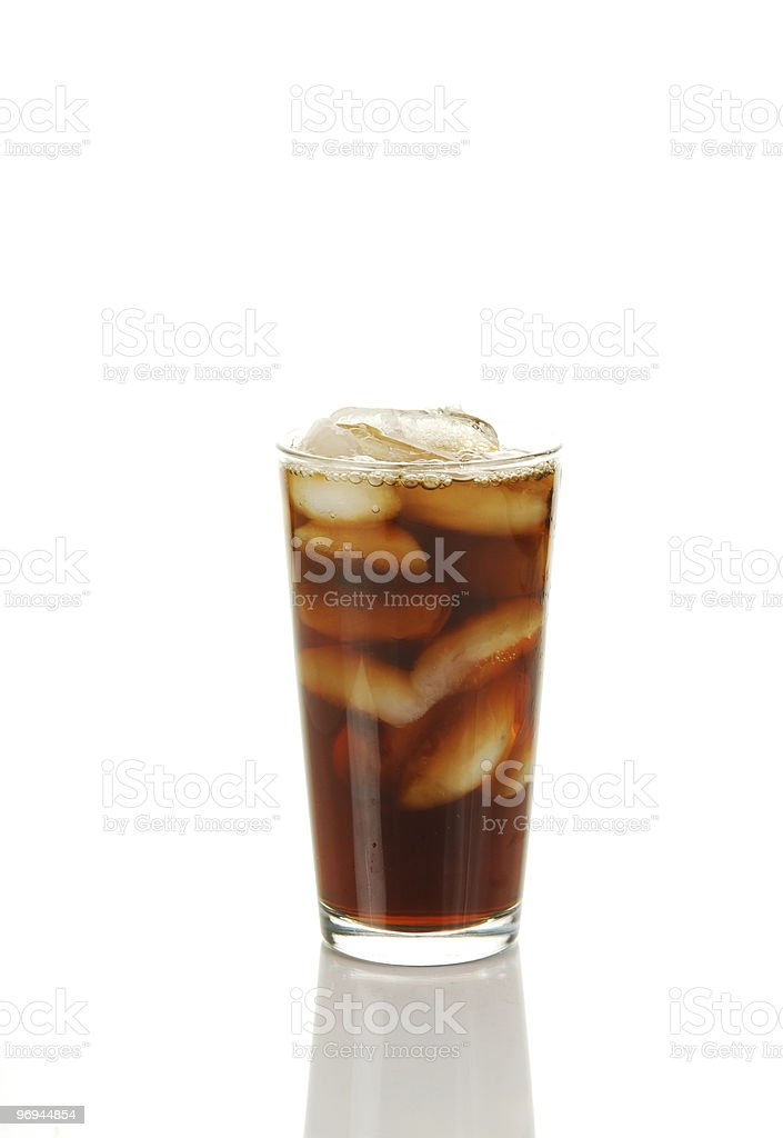 Iced coffee royalty-free stock photo