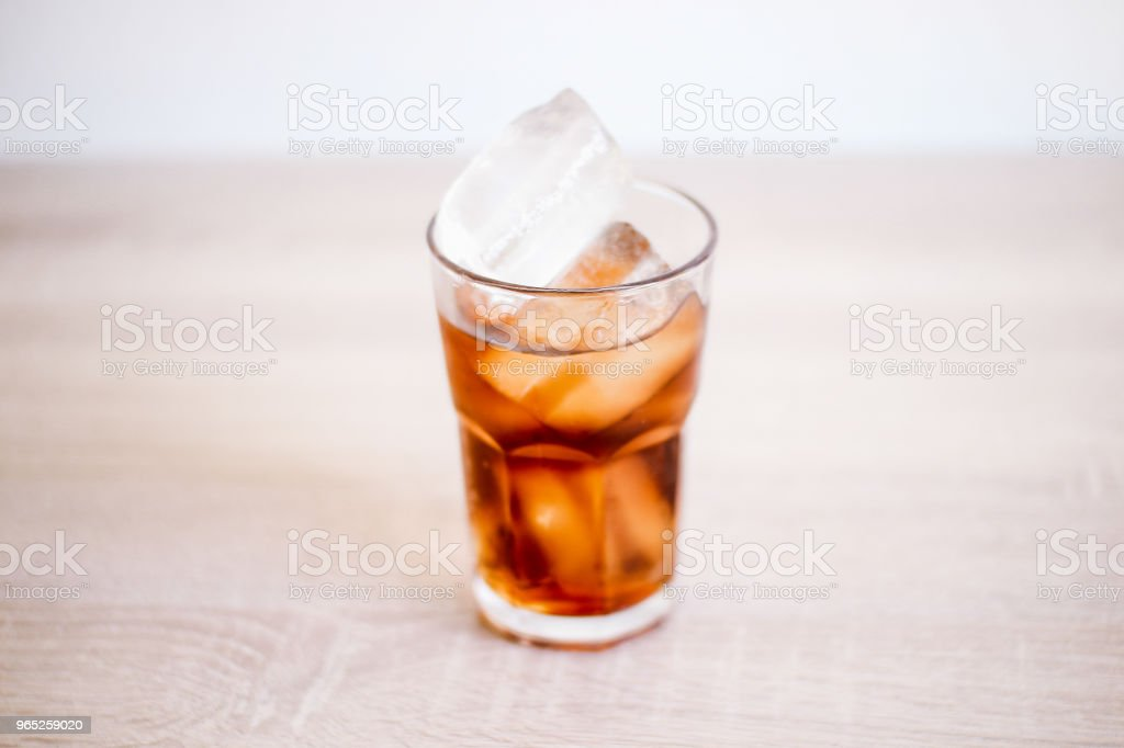 Iced Cold Cola royalty-free stock photo