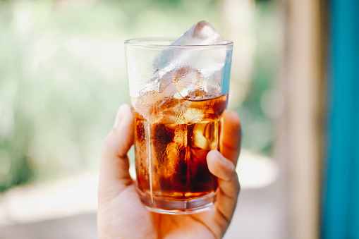 Iced Cold Cola Stock Photo - Download Image Now