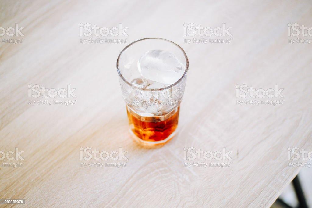 Iced Cold Cola zbiór zdjęć royalty-free