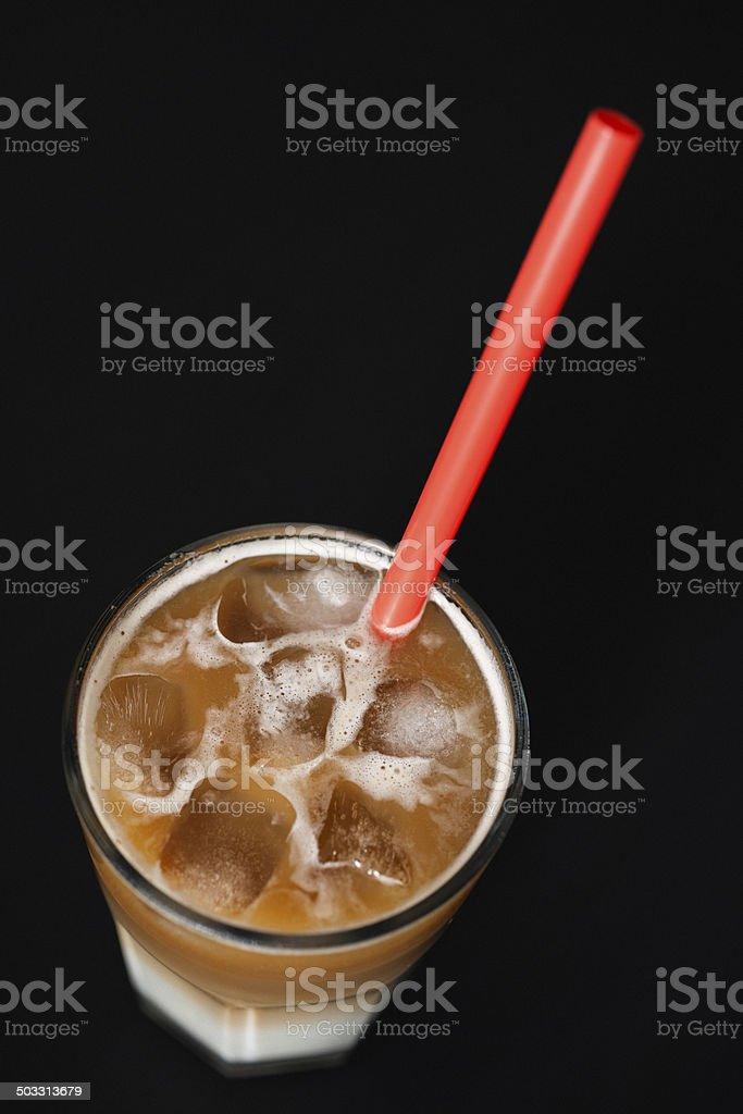 Iced Latte stock photo