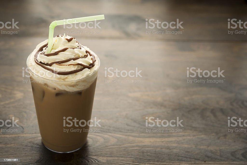 Iced Mocha Coffee stock photo