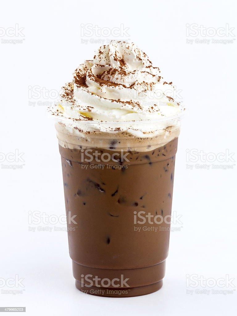 iced mocha stock photo