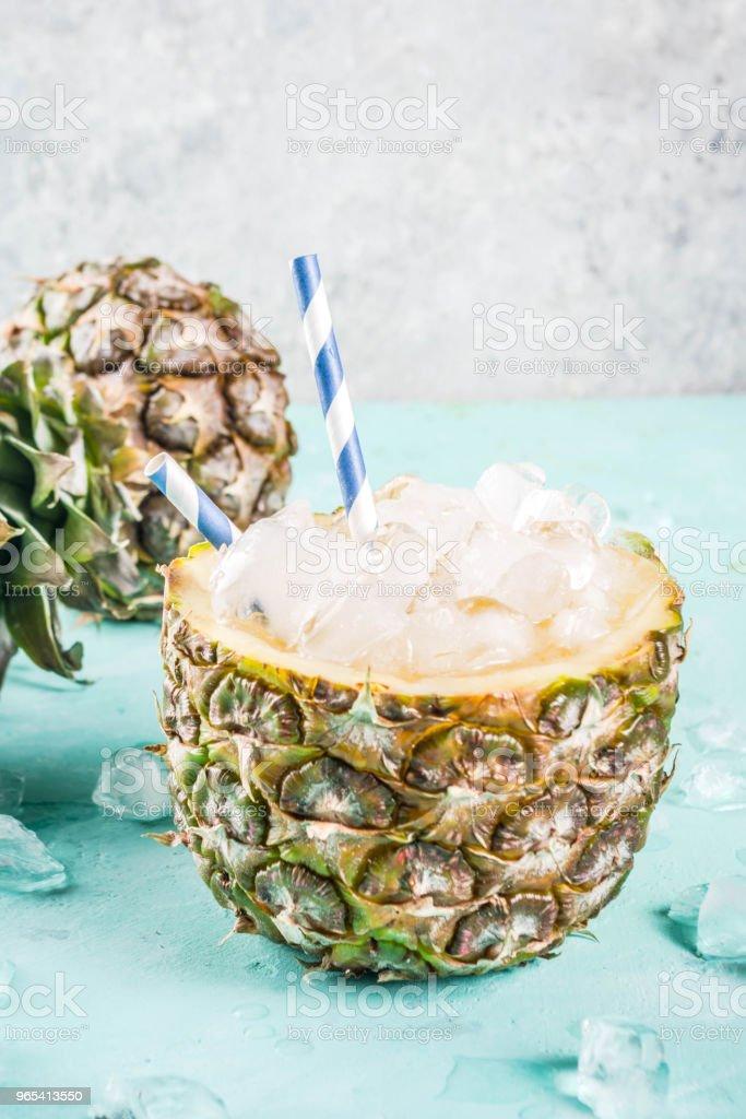 Cocktail glacé ananas - Photo de Aliment libre de droits