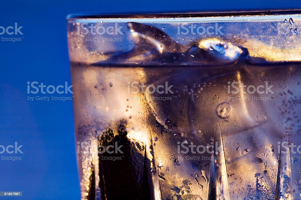 Iced Refreshment royalty-free stock photo