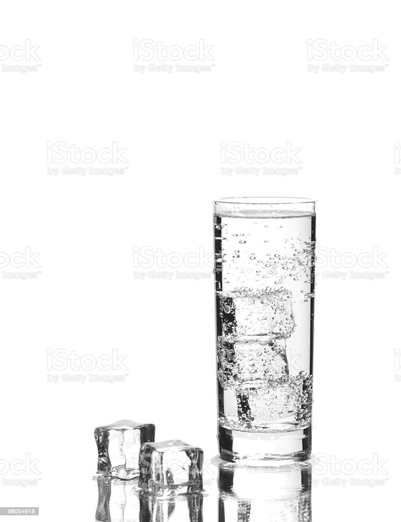Iced sparkling water royalty-free stock photo