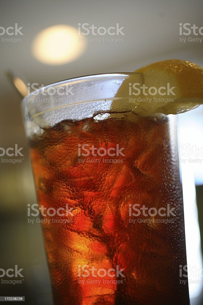 Iced Tea royalty-free stock photo