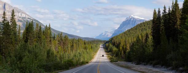 Icefields Parkway in Banff, Alberta
