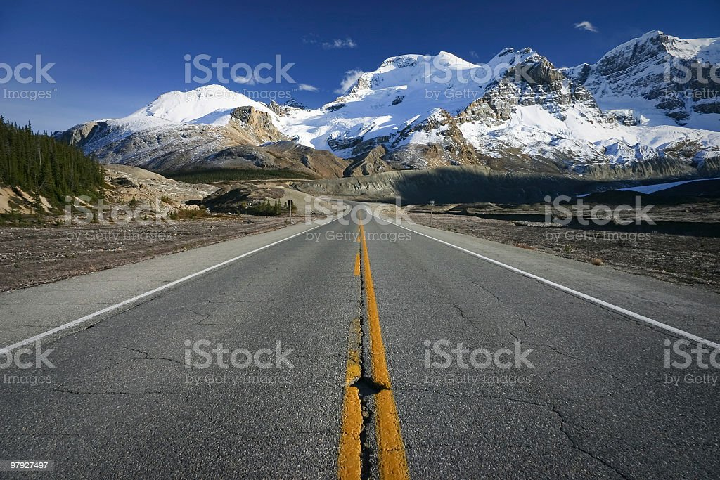 Icefields Parkway royalty-free stock photo