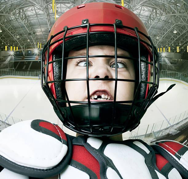 IceHockey Star stock photo