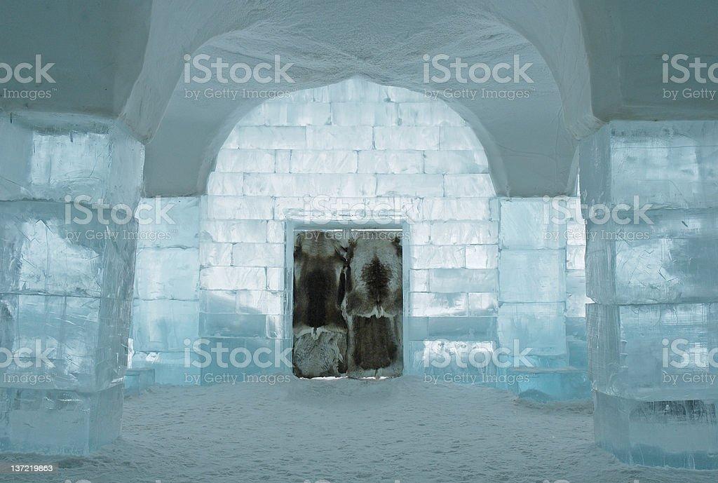 Icehotel stock photo