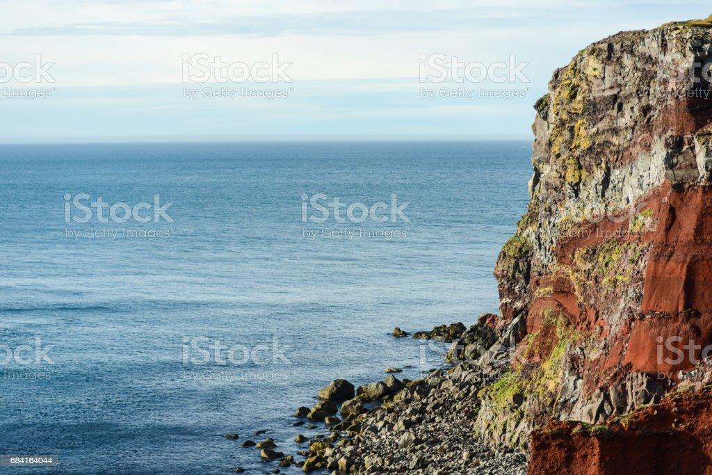 Islande du littoral photo libre de droits