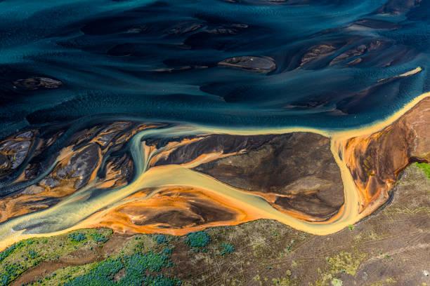 Island aus der Luft – Foto