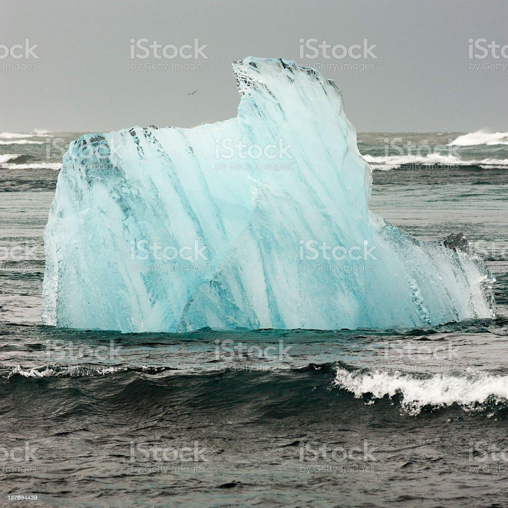 iceland iceberg royalty-free stock photo