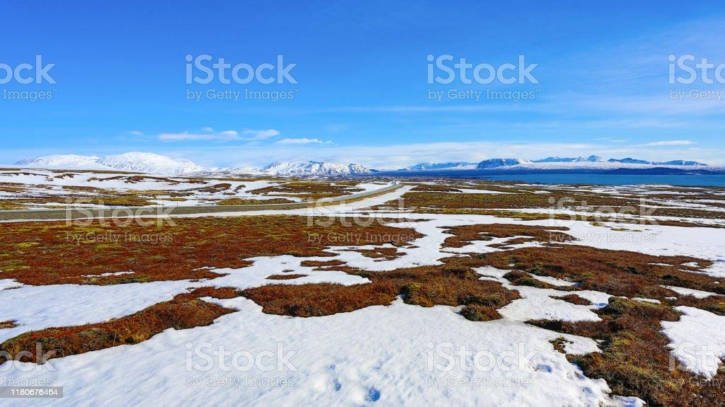 Iceland Landscape - Стоковые фото Moraine роялти-фри