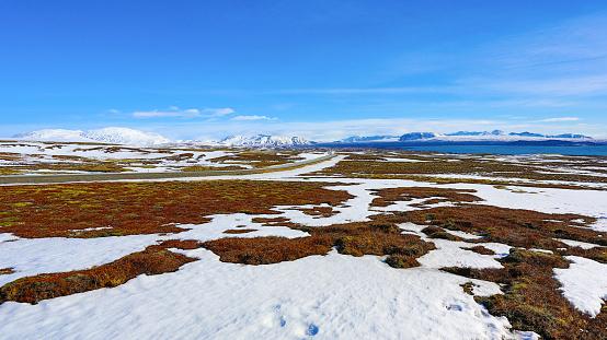 Iceland Landscape — стоковые фотографии и другие картинки Moraine