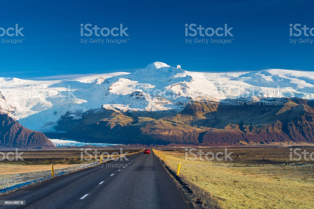 Iceland Landscape - Zbiór zdjęć royalty-free (Bez ludzi)