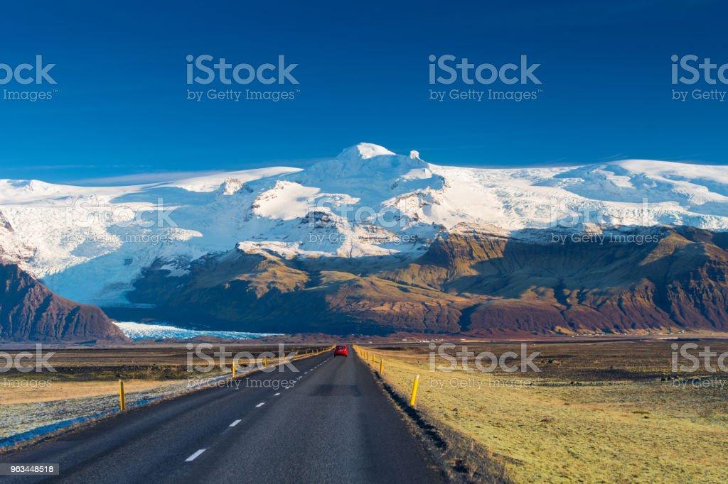 İzlanda manzara - Royalty-free Buz Stok görsel