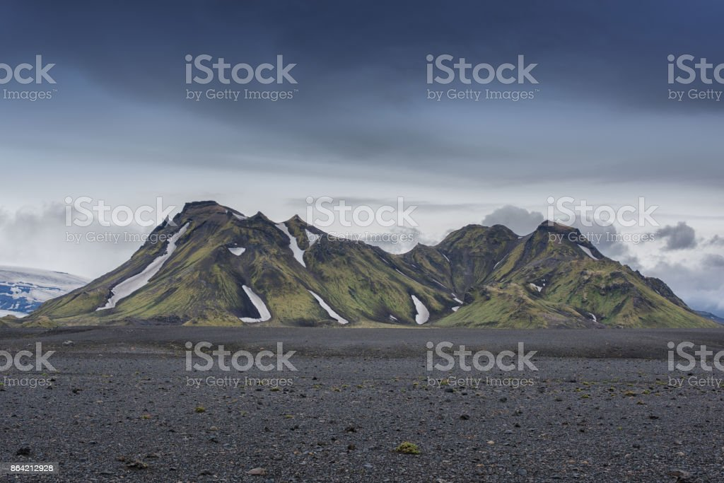 Iceland Laugavegur Trail royalty-free stock photo