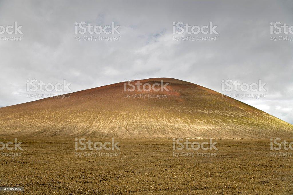 Iceland Mountain Landscape royalty-free stock photo