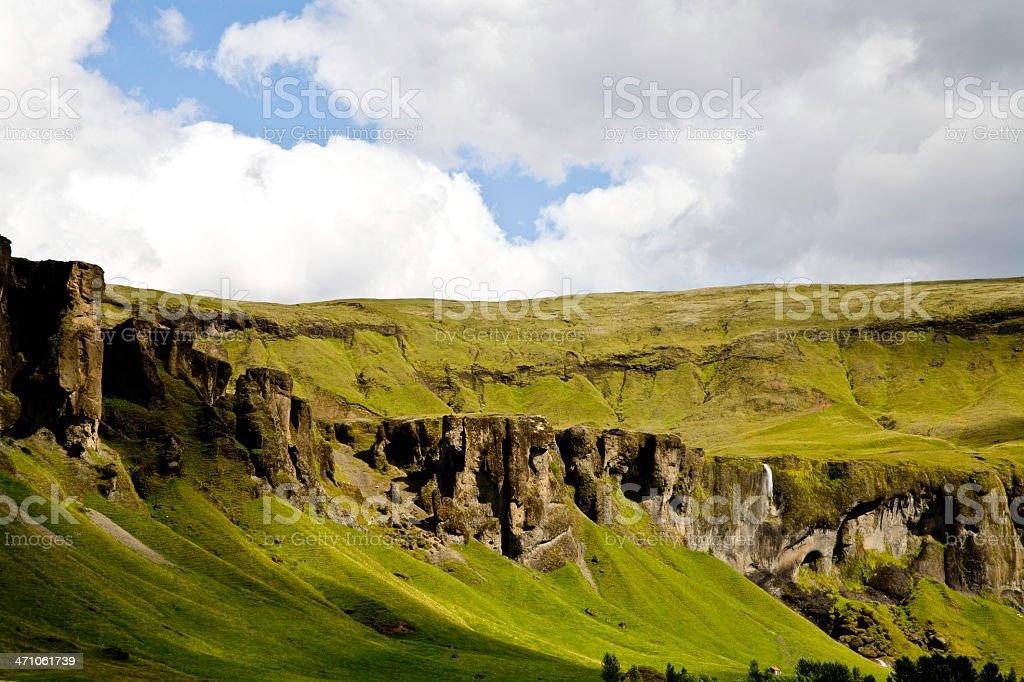 Iceland Mountain royalty-free stock photo