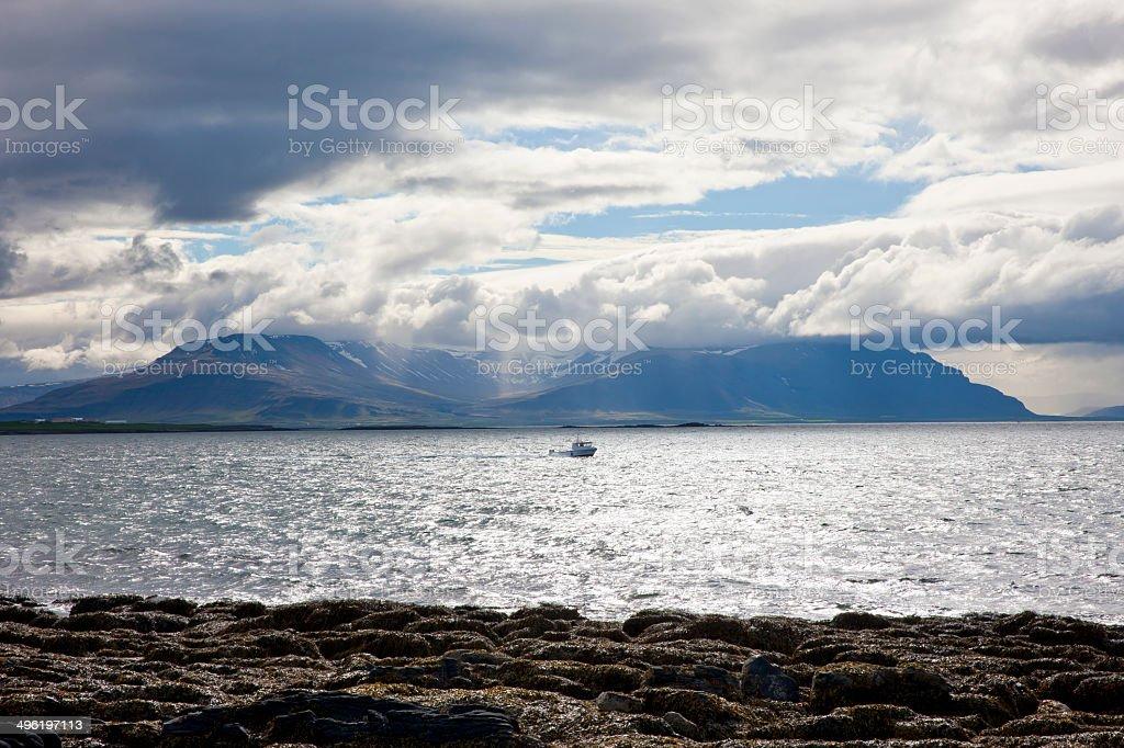 Iceland mountains royalty-free stock photo