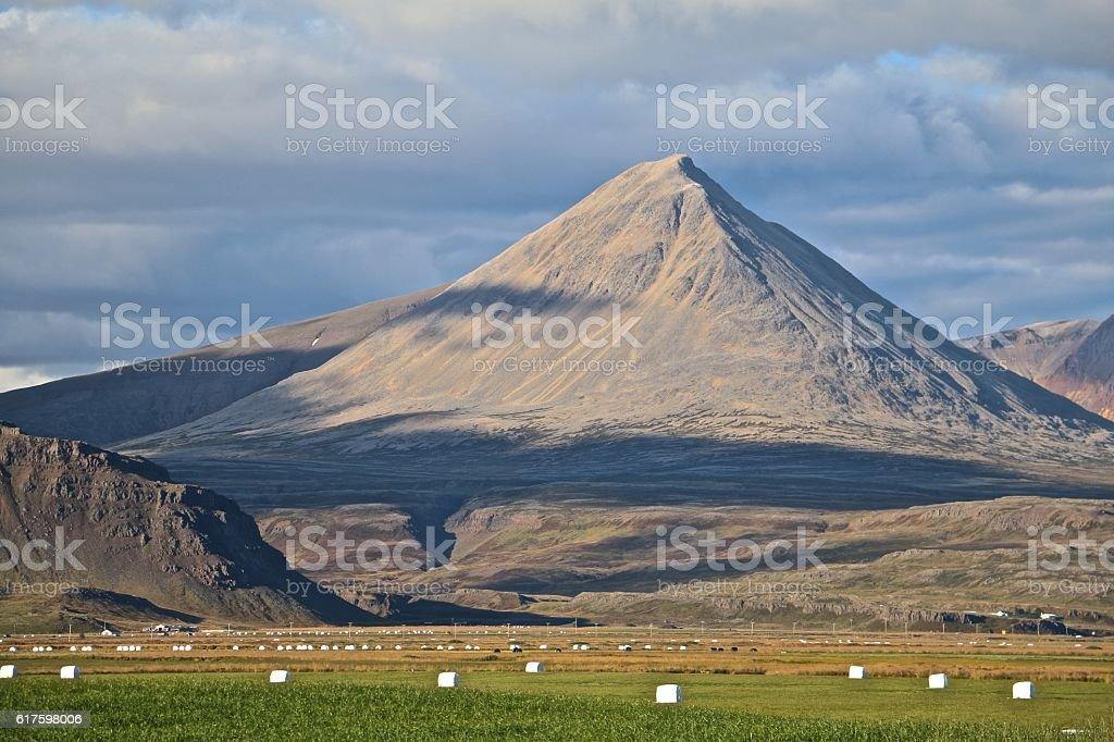Iceland Mountains stock photo
